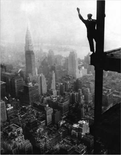 Самые головокружительные фотографии со строительства Нью-Йорка - №14