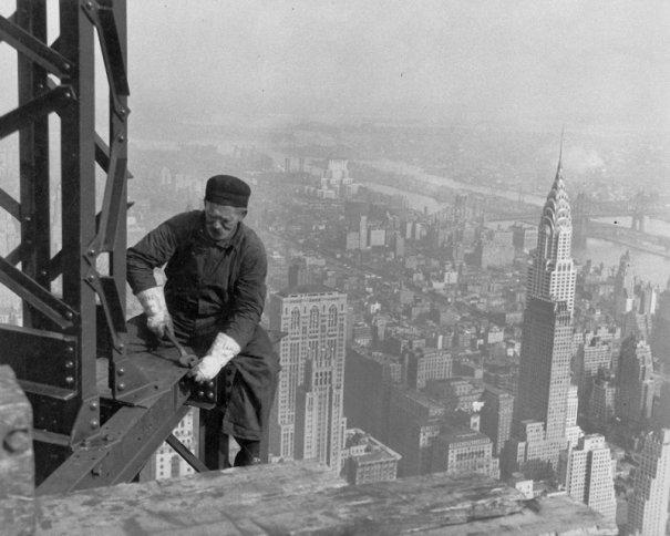 Самые головокружительные фотографии со строительства Нью-Йорка - №15