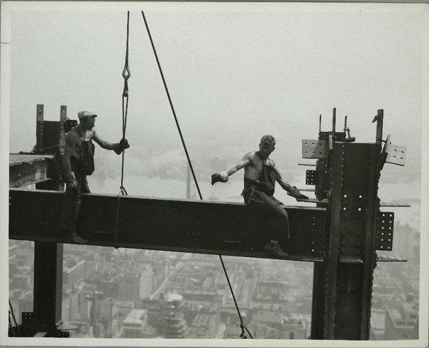 Самые головокружительные фотографии со строительства Нью-Йорка - №21