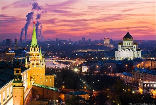 Фотографии красивой Москвы - №3