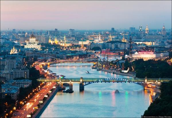 Фотографии красивой Москвы - №7