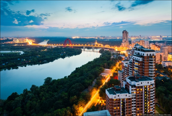 Фотографии красивой Москвы - №11