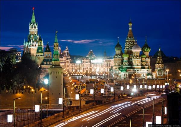 красивые места Москвы