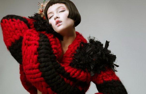 Серьезное модное фото Оскара Фалька - №3