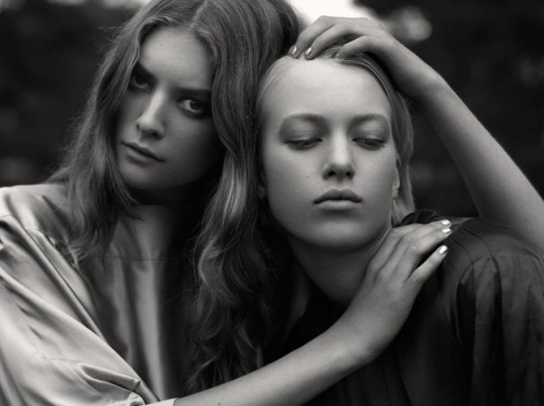 Серьезное модное фото Оскара Фалька - №5