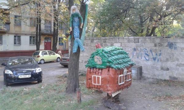 Немного Фото юмора! Деревянный русский арт дизайн - №4