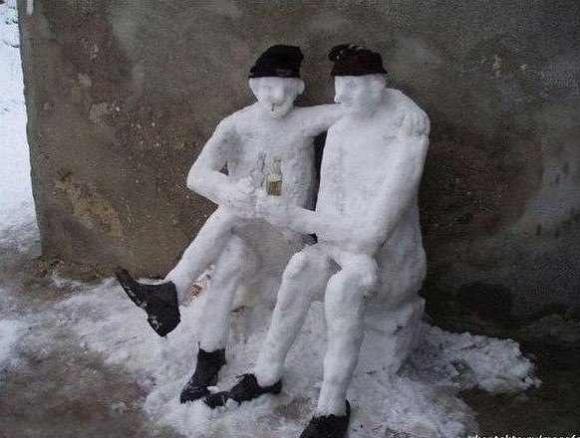 Немного Фото юмора! Деревянный русский арт дизайн - №12