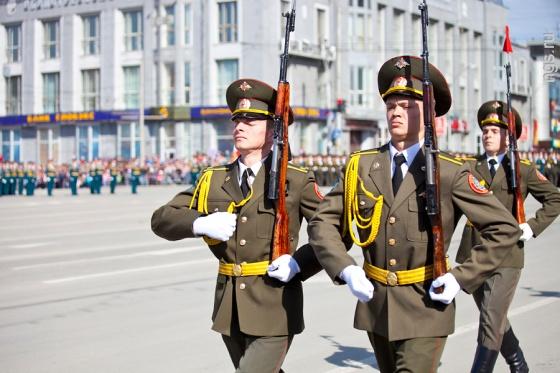 День Победы-2013. Смотреть репортаж из Новосибирска - №4