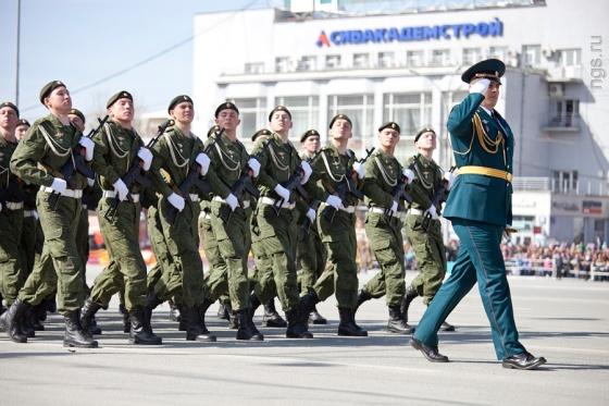 День Победы-2013. Смотреть репортаж из Новосибирска - №5