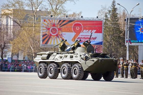 День Победы-2013. Смотреть репортаж из Новосибирска - №6