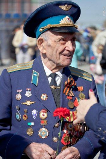 День Победы-2013. Смотреть репортаж из Новосибирска - №10