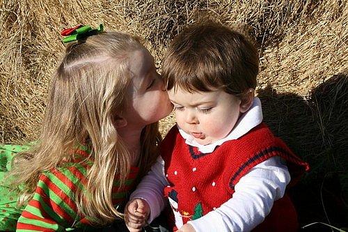 Забавные и милые фотографии детей - №1