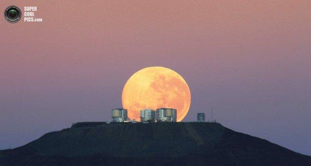 Как производят фото съемку космоса. Европейская южная обсерватория - №1