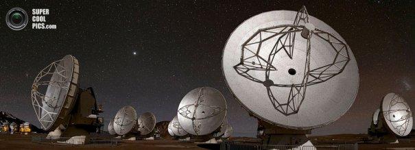 Как производят фото съемку космоса. Европейская южная обсерватория - №6