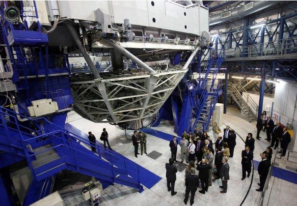 Как производят фото съемку космоса. Европейская южная обсерватория - №15