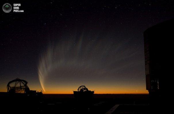 Как производят фото съемку космоса. Европейская южная обсерватория - №17