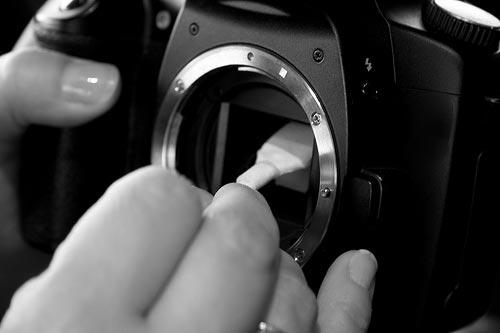 Чистка фотоаппарата
