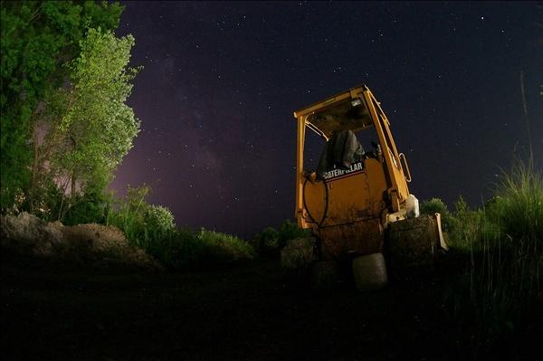 Олимпийская стройка в Сочи: в горах нет засветок, и вы можете запечатлеть больше звезд