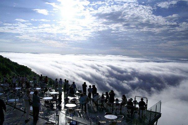Мечта посидеть на белых облаках вполне реальна - №2