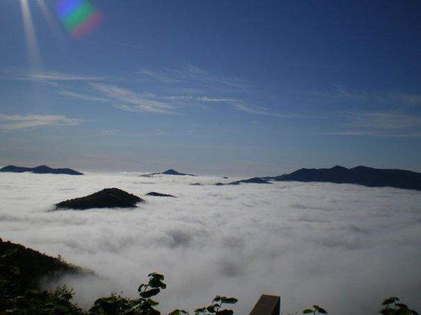 Белые облака