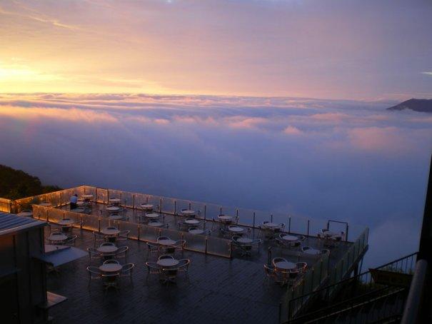 белые облака фото