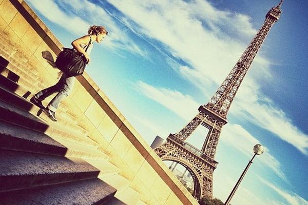 Мобильное фото красивого романтичного города от Натали Жеффруа - №1