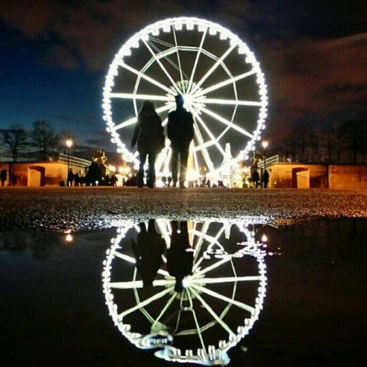 Мобильное фото красивого романтичного города от Натали Жеффруа - №4