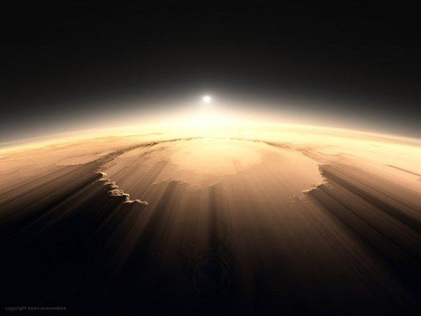 Фото с Марса - настоящая неЗемная красота! - №1