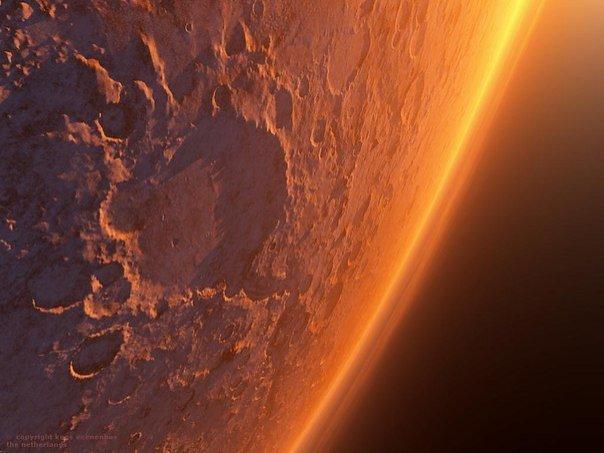 Фото с Марса - настоящая неЗемная красота! - №2