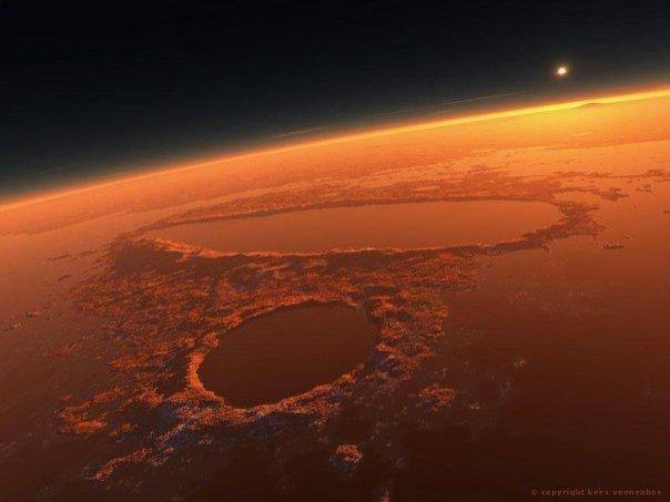 Фото с Марса - настоящая неЗемная красота! - №4