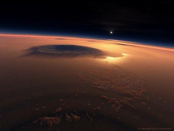 Фото с Марса - настоящая неЗемная красота! - №5