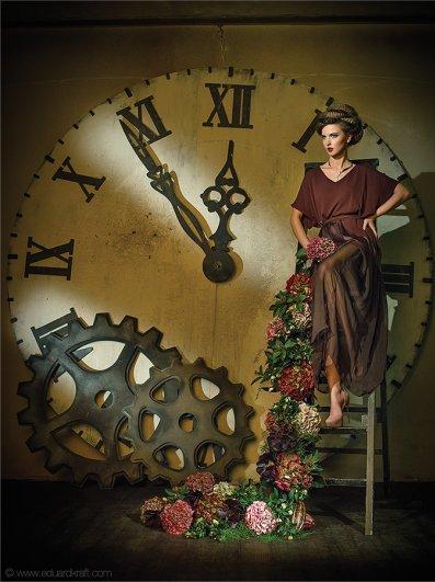 Фэшн-календарь, сделанный фотографом Эдуардом Крафтом - №1