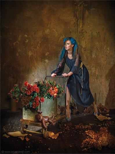 Фэшн-календарь, сделанный фотографом Эдуардом Крафтом - №6