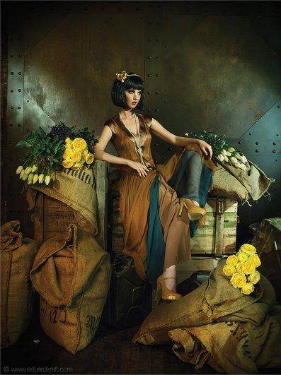 Фэшн-календарь, сделанный фотографом Эдуардом Крафтом - №8