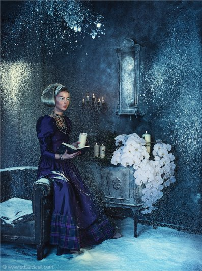Фэшн-календарь, сделанный фотографом Эдуардом Крафтом - №13