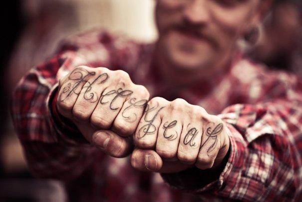 Мастер фотографии Dirk Behlau любит снимать красивые тату - №2