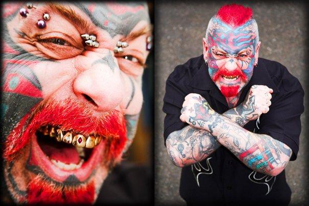 Мастер фотографии Dirk Behlau любит снимать красивые тату - №7