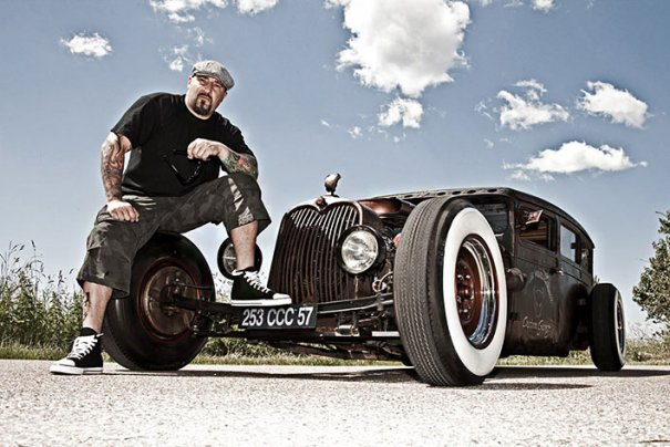 Мастер фотографии Dirk Behlau любит снимать красивые тату - №18
