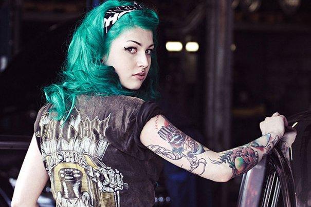 Мастер фотографии Dirk Behlau любит снимать красивые тату - №19