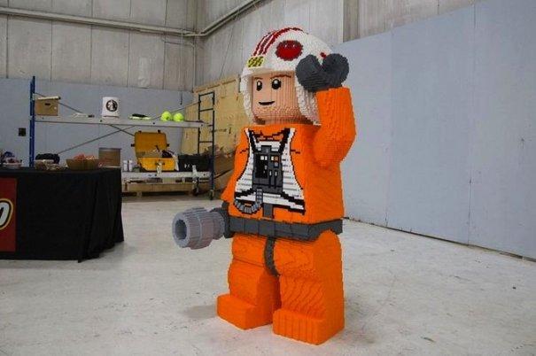 С помощью LEGO реально сделать многое, даже космический корабль - №4