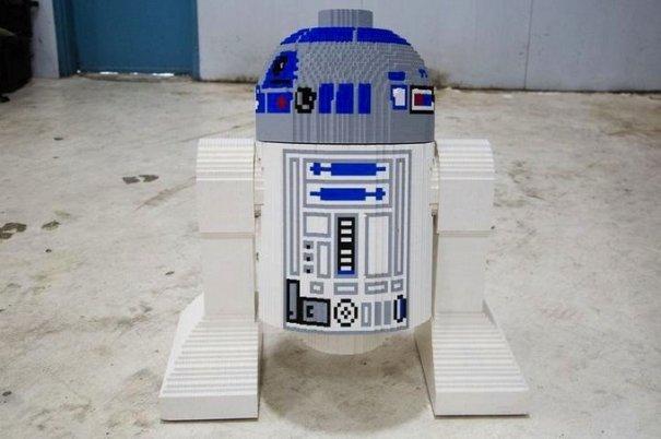 С помощью LEGO реально сделать многое, даже космический корабль - №11