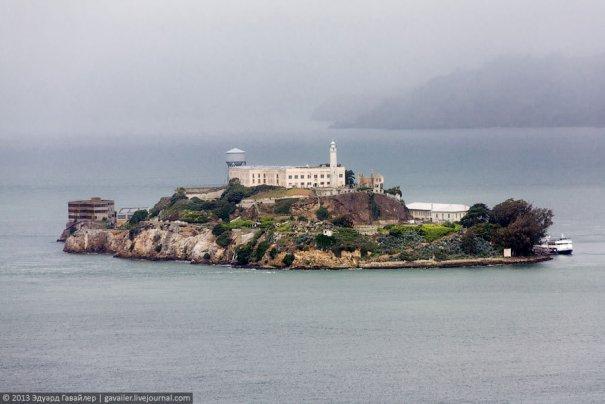 Необычная экскурсия - в легендарную тюрьму Алькатрас! - №1