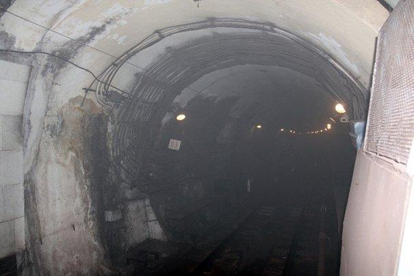 Пожар в метро Москвы - №1