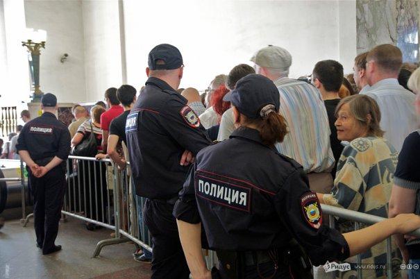 Пожар в метро Москвы - №3
