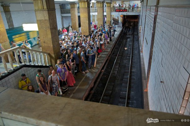 Пожар в метро Москвы - №4