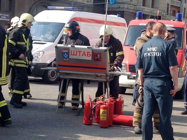 аварии и пожары в метро