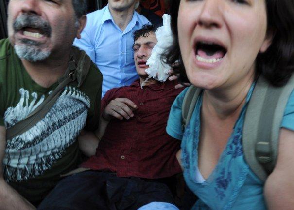 Новости в фотографиях - Массовые протесты в Турции - №2