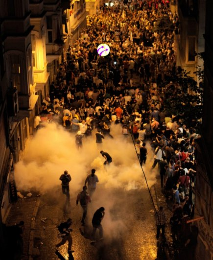 Новости в фотографиях - Массовые протесты в Турции - №3