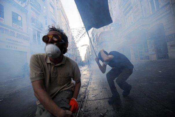 Новости в фотографиях - Массовые протесты в Турции - №4