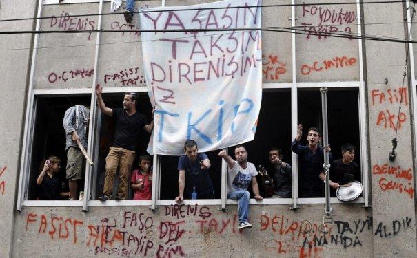 Новости в фотографиях - Массовые протесты в Турции - №8
